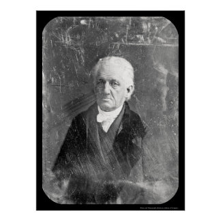 Lyman Beecher Daguerreotype 1847 Poster