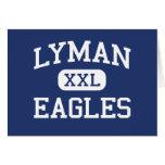 Lyman Eagles Middle School Lyman Wyoming Greeting Cards