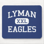 Lyman Eagles Middle School Lyman Wyoming Mousepad