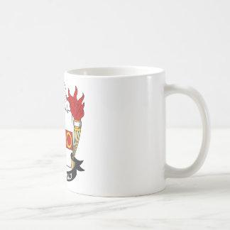 Lyman Family Crest Classic White Coffee Mug