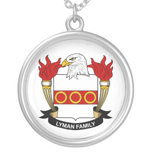 Lyman Family Crest Necklace