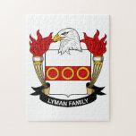 Lyman Family Crest Puzzles