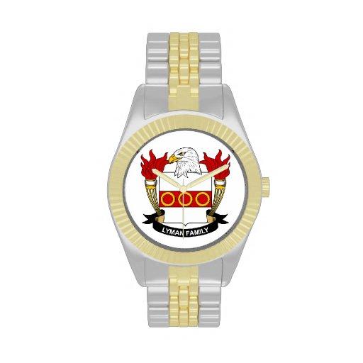 Lyman Family Crest Watch