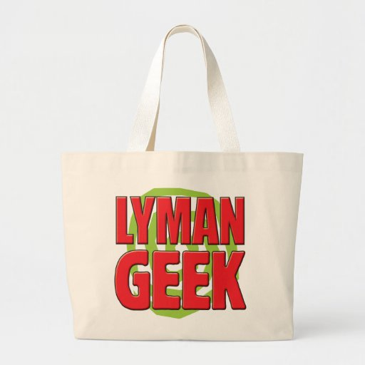 Lyman Geek Tote Bag