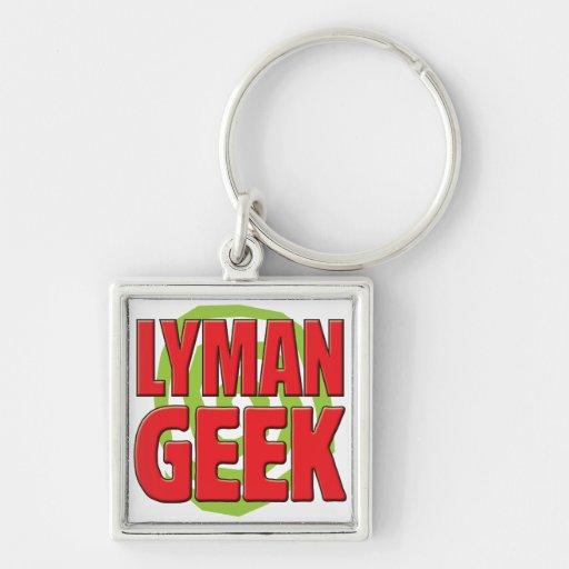 Lyman Geek Keychain