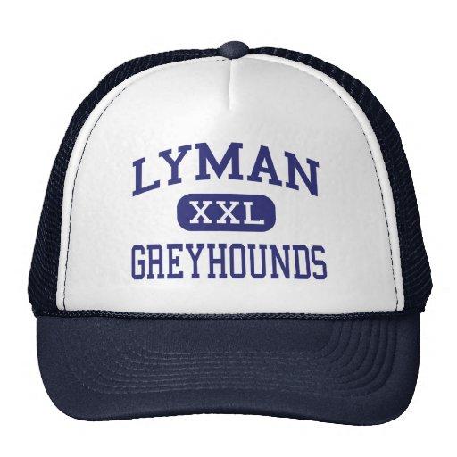 Lyman - Greyhounds - High - Longwood Florida Mesh Hats