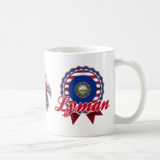 Lyman, NH Classic White Coffee Mug
