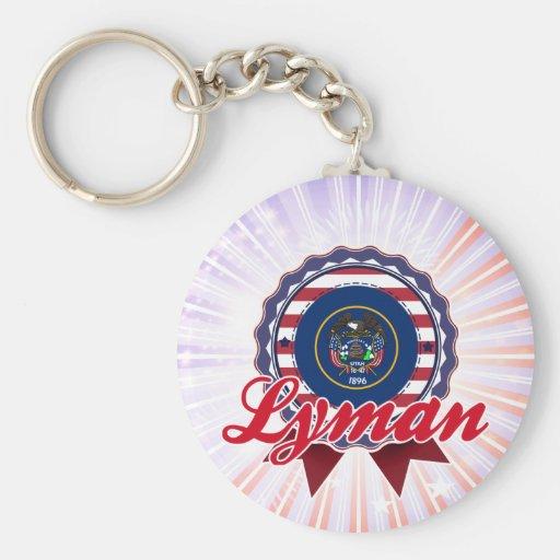 Lyman, UT Keychain