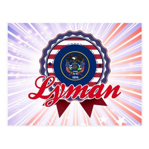 Lyman, UT Postcard