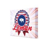 Lyman, WY Impresion De Lienzo
