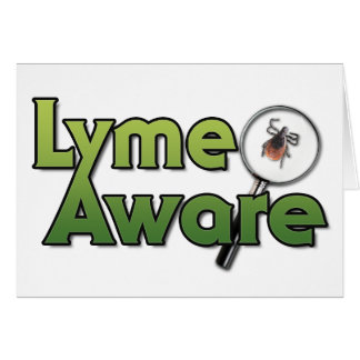 Lyme Aware Gear Greeting Card