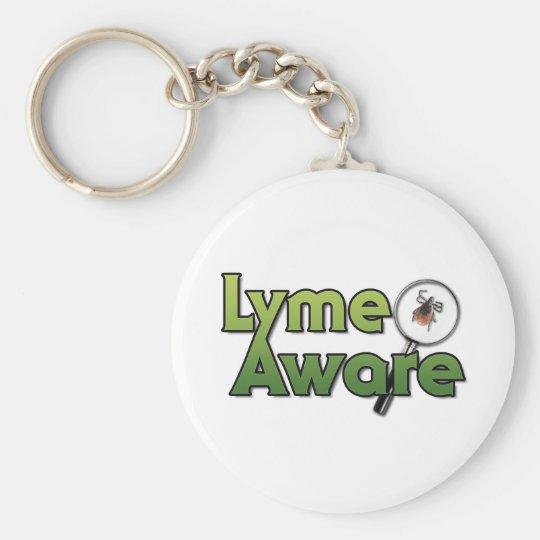 Lyme Aware Gear Keychain