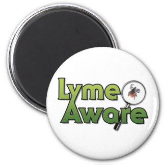 Lyme Aware Gear Magnet