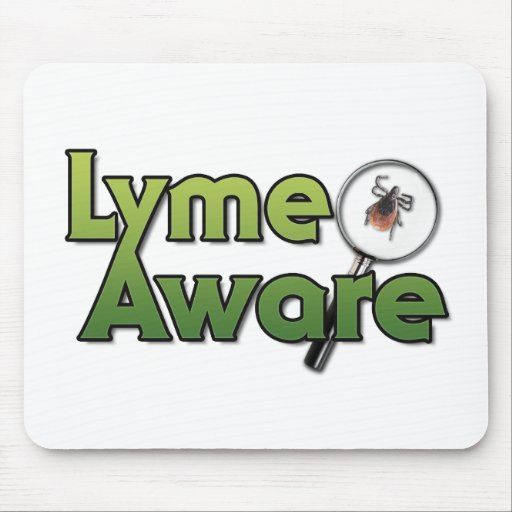 Lyme Aware Gear Mouse Pad