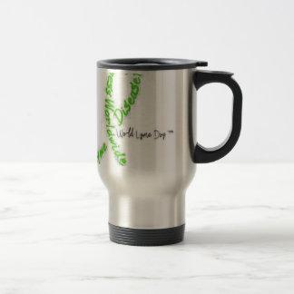 Lyme Awareness 15 Oz Stainless Steel Travel Mug