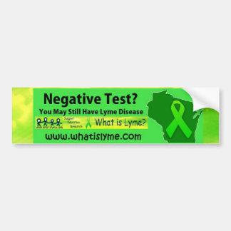 Lyme Awareness Bumper Sticker Car Bumper Sticker