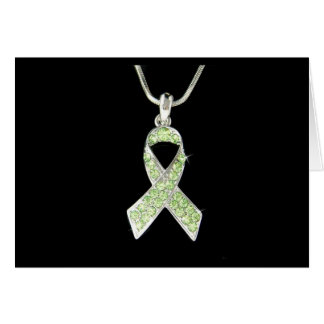 LYME AWARENESS RIBBON CARD