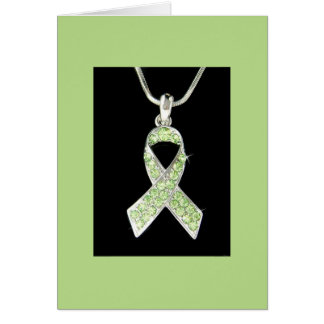LYME AWARENESS RIBBON PRODUCT CARD