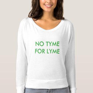 LYME Awareness Tee 5 - NO TYME FOR LYME