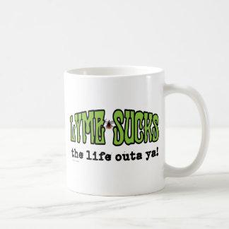 Lyme chupa taza