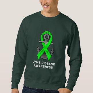 Lyme Disease Anchor of Hope Sweatshirt