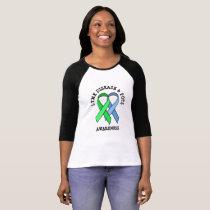 Lyme Disease and POTS Awareness Ribbons Shirt
