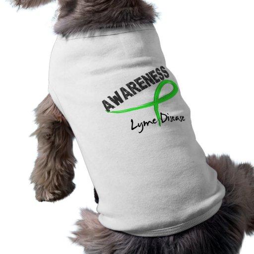 Lyme Disease Awareness 3 Pet T Shirt