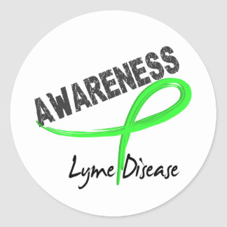 Lyme Disease Awareness 3 Classic Round Sticker