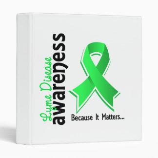 Lyme Disease Awareness 5 3 Ring Binder