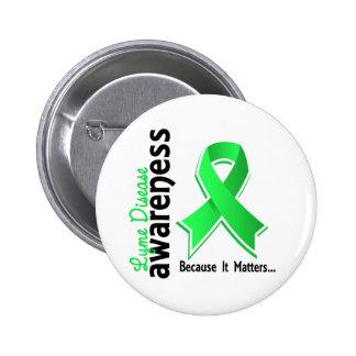 Lyme Disease Awareness 5 Pinback Buttons