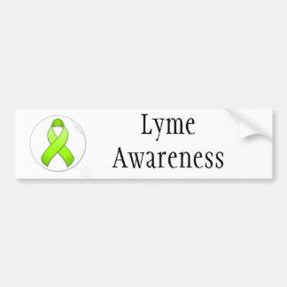 Lyme Disease Awareness Bumper Sticker Car Bumper Sticker