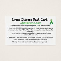 Lyme Disease Awareness Business Cards
