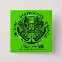 Lyme Disease Awareness Button