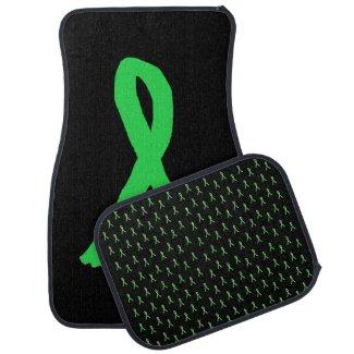 Lyme Disease Awareness Car Floor Mats