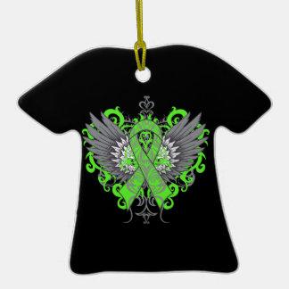 Lyme Disease Awareness Cool Wings Ornament