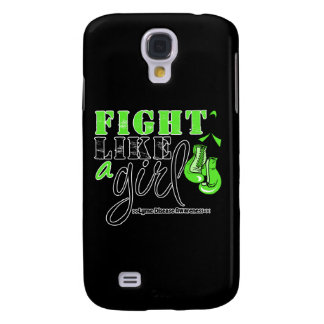 Lyme Disease Awareness Fight Like a Girl Galaxy S4 Cover