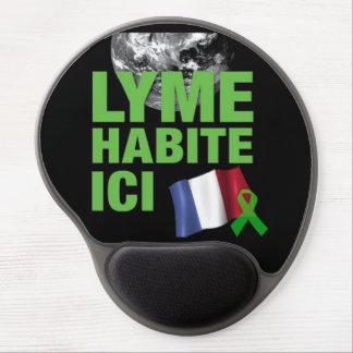 Lyme Disease Awareness France Gel Mouse Pad