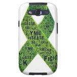 Lyme disease awareness galaxy s3 covers