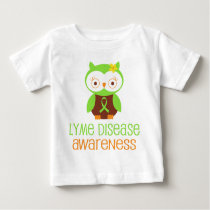 Lyme Disease Awareness Green Ribbon Baby T-Shirt