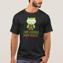 Lyme Disease Awareness Green Ribbon T-Shirt