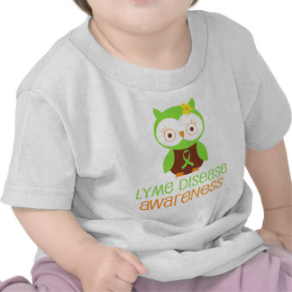 Lyme Disease Awareness Green Ribbon Shirt