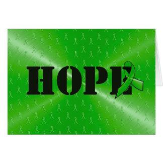 """Lyme Disease Awareness """"Hope"""" Card"""