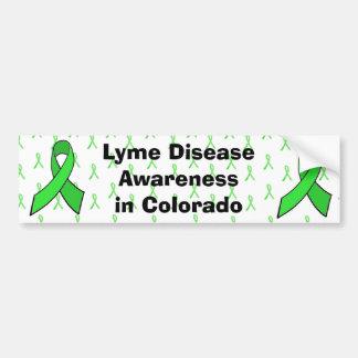 Lyme Disease Awareness  in Colorado Bumper Sticker