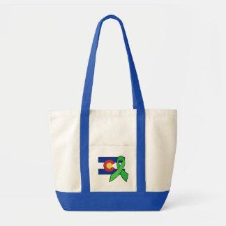 Lyme Disease Awareness in Colorado Tote Bag