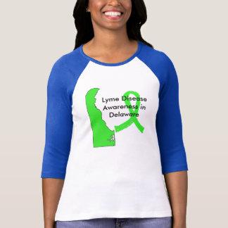 Lyme Disease Awareness in Delaware T-Shirt