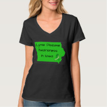 Lyme Disease Awareness in Iowa Shirt