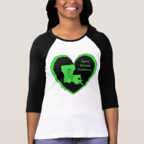 Lyme Disease Awareness in Louisiana T-Shirt