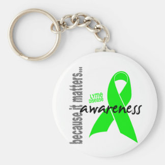 Lyme Disease Awareness Keychain