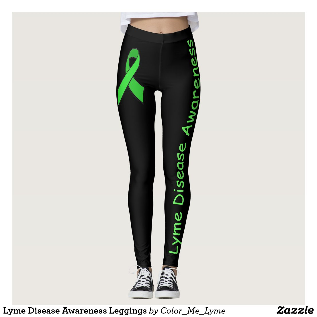 Lyme Disease Awareness Leggings