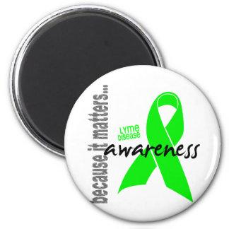 Lyme Disease Awareness Magnet
